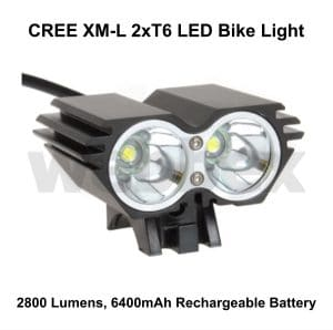 Cree 2800 Lumen Bike Light