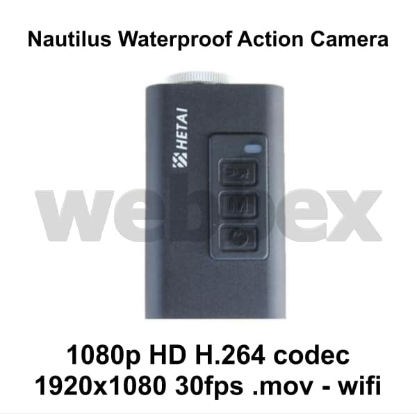 Nautilus Waterproof Action Camera