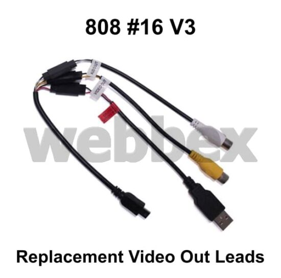 808 #16 V3 Replacement Video Out Leads