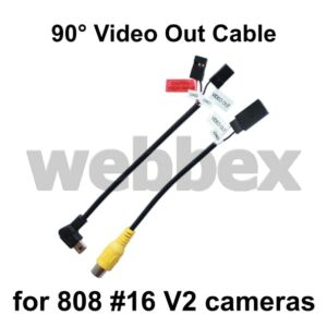 808 #16 V2 Replacement Right Angle Video Out Leads