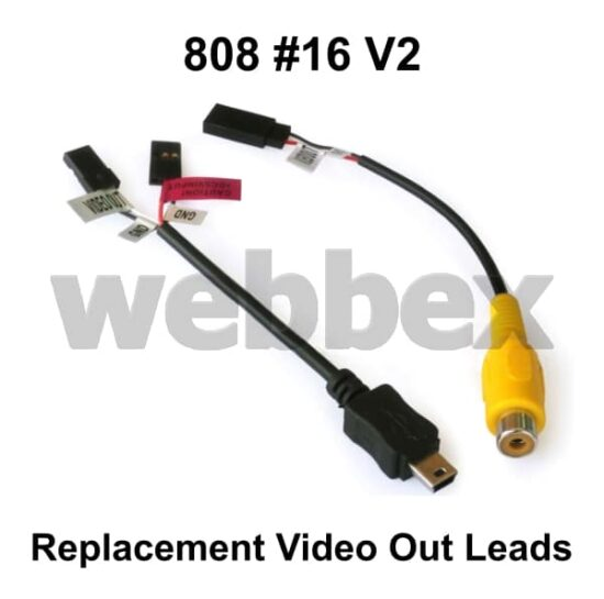 808 #16 V2 Replacement Video Out Leads