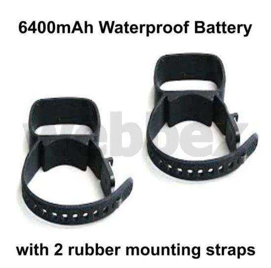6400mAh Waterproof Battery