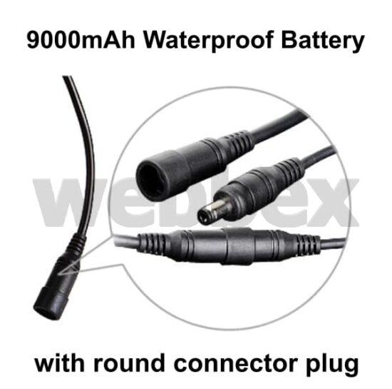 Lights4Bikes 9000mAh Waterproof Battery