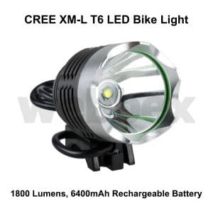 Cree 1800 Lumen Bike Light