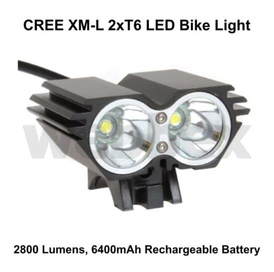 Cree 2800 Lumen Bike Light