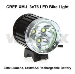 Cree 3800 Lumen Bike Light