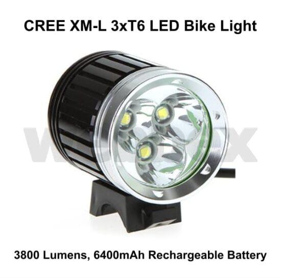 Cree 3800 Lumen Bike Light