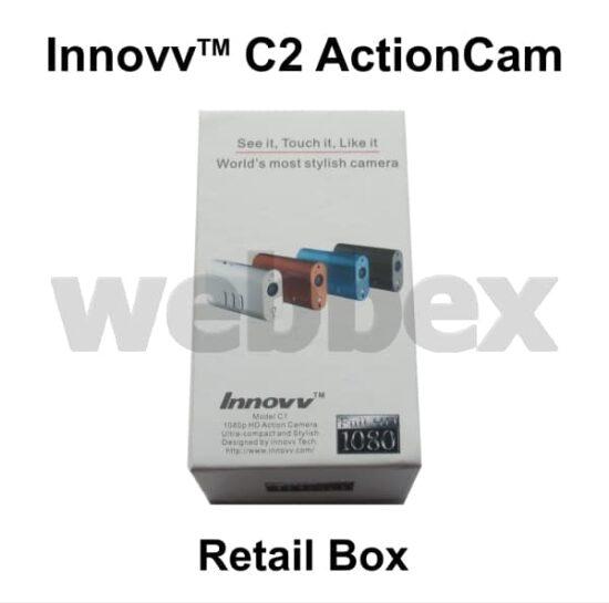 Innovv C2 Action Camera Retail Box