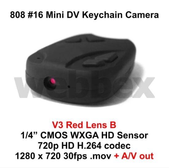 808 #16 Lens B Keychain Camera