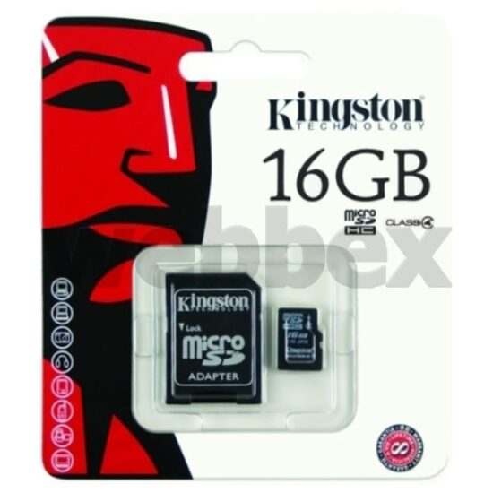 16gb Kingston Micro SD Memory Card