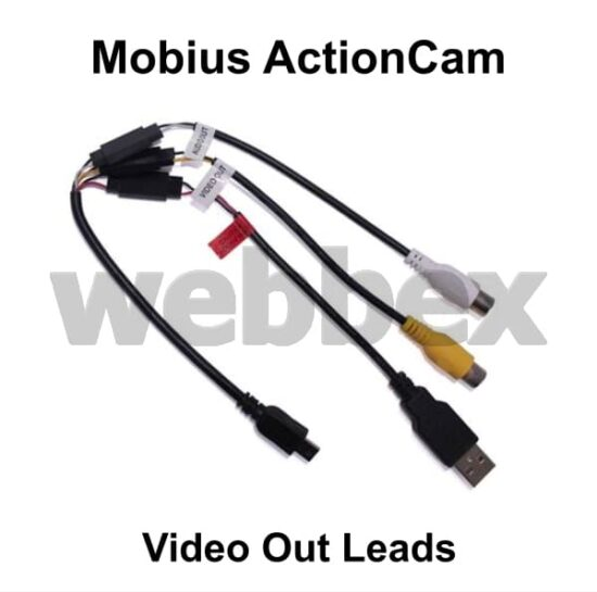 Mobius ActionCam Video Out Leads