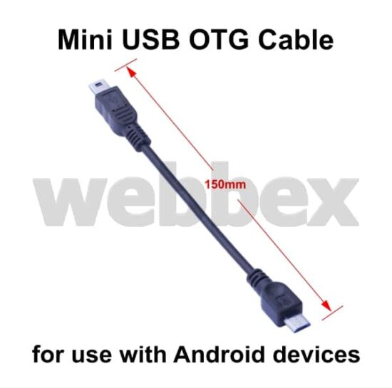 Mini USB OTG Cable
