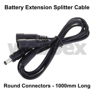 Battery Extension Splitter Cable