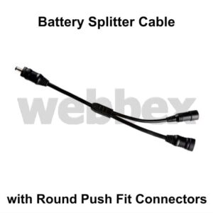 Push Fit Splitter Cable