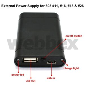 808 External Power Supply