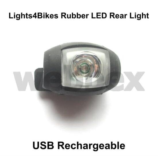 USB Rubber Rear Light
