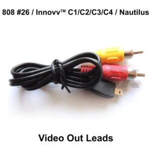 808 #26, Innovv & Nautilus Video Out Leads