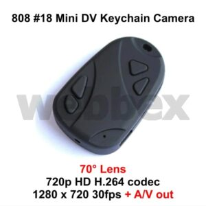 808 #18 Keychain Camera