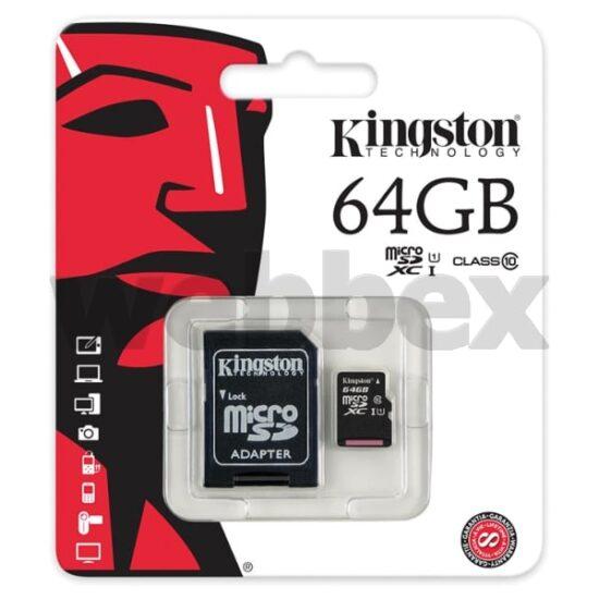 Kingston 64GB Class 10 SHDC Memory Card