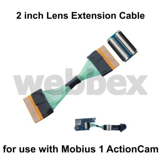 Mobius ActionCam Lens Extension Cable