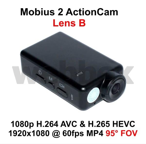 Mobius 2 ActionCam Lens B