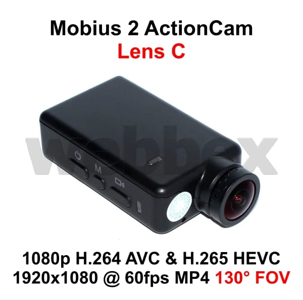 Mobius 2 ActionCam Lens C