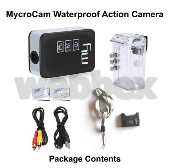Mycrocam 1080 Waterproof Action Camera