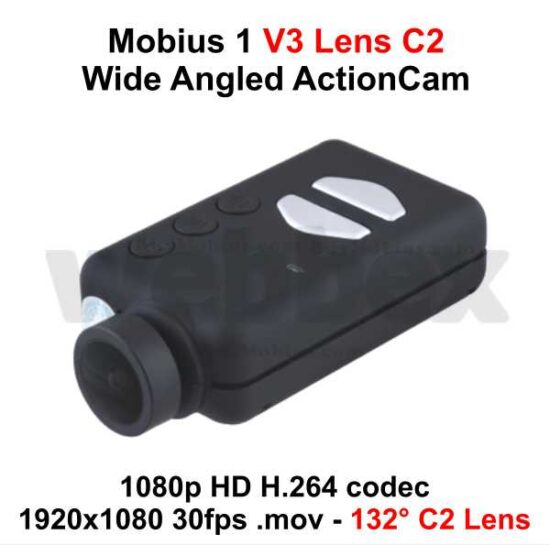 Mobius 1 Wide Angle ActionCam Lens C2