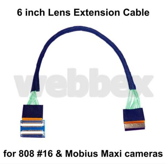 6 Inch Mobius Maxi Len Extension Cable