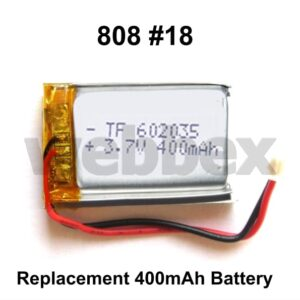 Replacement Battery for 808 #18 Camera