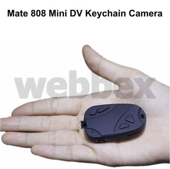 Mate 808 HD Keychain Camera