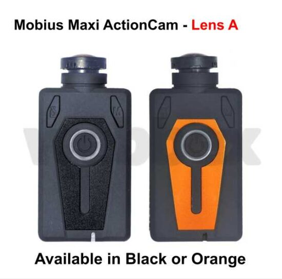 Mobius Maxi Action Camera - Orange Lens A