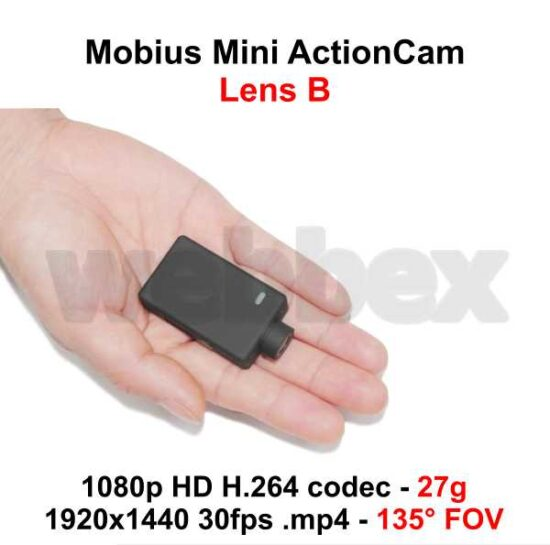 Mobius Mini Lens B Action Camera