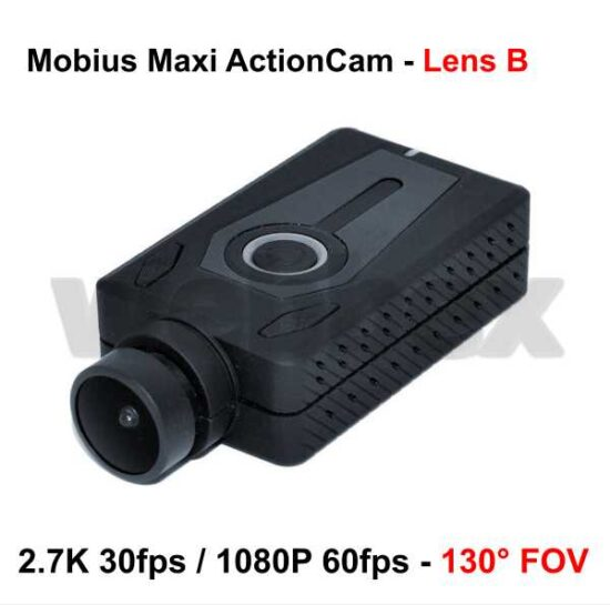 Mobius Maxi Action Camera - Black Lens B