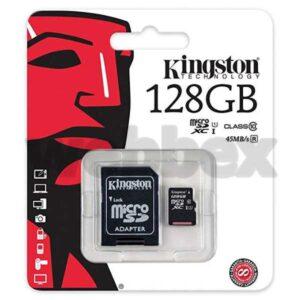 Kingston 128GB Class 10 SHDC Memory Card